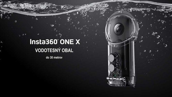 Insta360 One X vodotesné puzdro