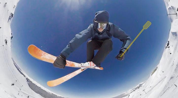 Insta360 One X s neviditeľnou selfie tyčou